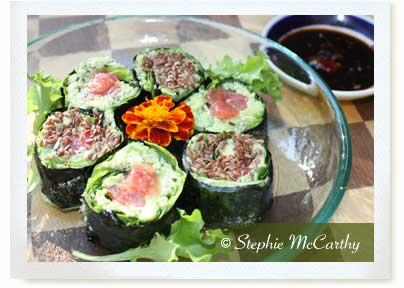 No Rice No Cook Sushi Maki Rolls